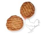 Gebraden kipburger